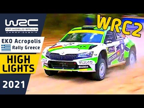 WRC2 2021 ラリー・ギリシャ Day1ハイライト動画