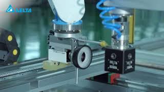 台達垂直關節型機器人DRV70L_檢測SCARA機器人