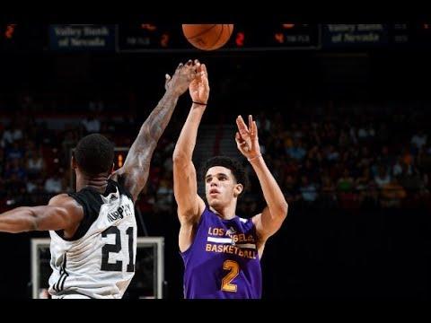 HIGHLIGHTS: Los Angeles Lakers vs. Brooklyn Nets (VIDEO) 2017 NBA Summer League