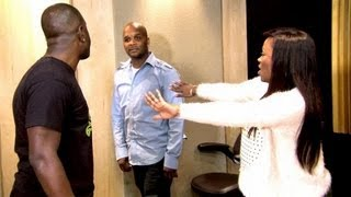 KANDI FACTORY : Fight Breaks Out In Kandi Burruss' Music Studio ( Real Footage )