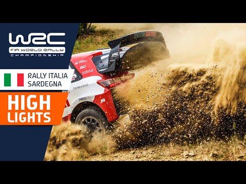 WRC 2021 第5戦ラリー・イタリア SS17-19ハイライト動画