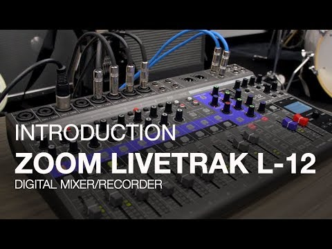 ZOOM LiveTrak L-12 Multistopý rekordér