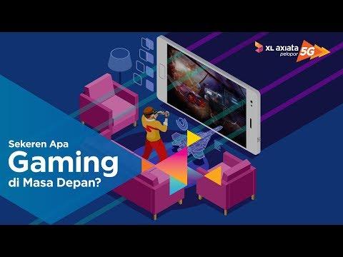 Gaming di masa depan dengan jaringan 5G