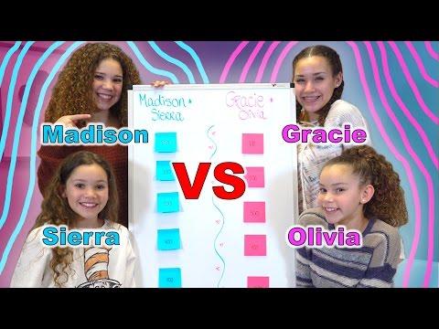 Sister vs Sister Jeopardy! (Haschak Sisters)
