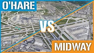 OHare VS Midway - Chicagos International Airports Compared