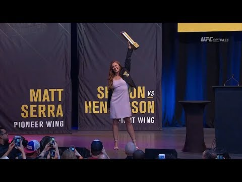 Highlights de la cérémonie du UFC Hall of Fame 2018