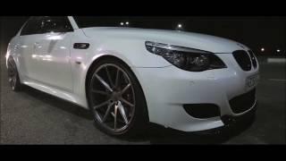 BMW M5 JoRica Revazova / by night city / New style / 7 серия