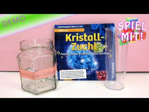 kosmos kristalle züchten anleitung - kosmos experimentierkasten Versuch 1