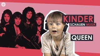 Kinder schauen Queen   uDiscover Music