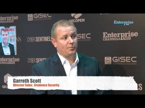 Garreth Scott- Director Sales, Credence Security