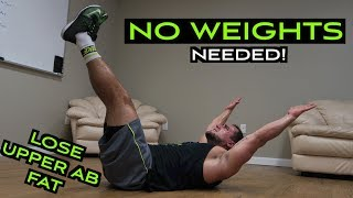 Intense 10 Minute At Home Fat Burning Upper Ab Workout by Anabolic Aliens