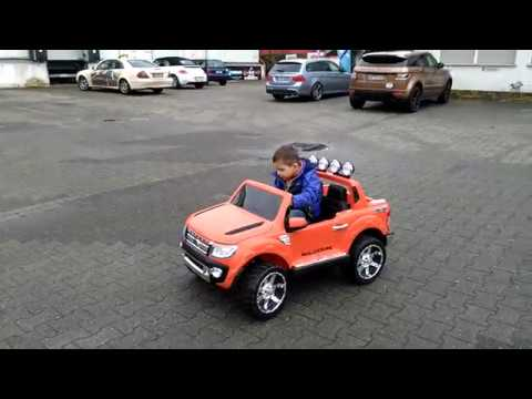 Ford Ranger Wildtrak Kinder Elektroauto Kids Car Ride on