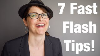 7 Fast Tips For Flash Photography from Jessica Sterling