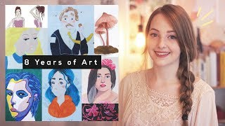 My Art Journey: 13-21 Years of Age