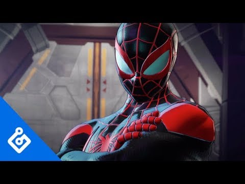 Gameplay Miles Morales de Marvel Ultimate Alliance 3: The Black Order