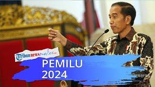 Jokowi Sepakat Pemilu Serentak 2024 akan Digelar pada Bulan April