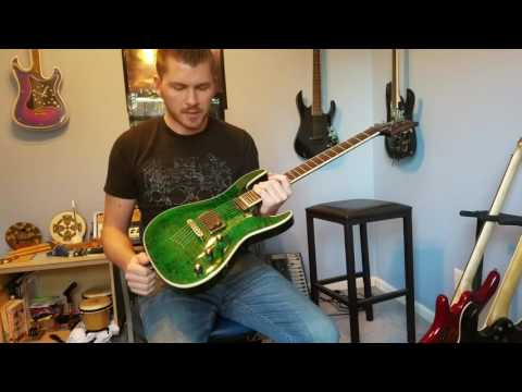 Mitchell MD400 Guitar Unboxing/Demo (with Original Song) – Artificial Fear