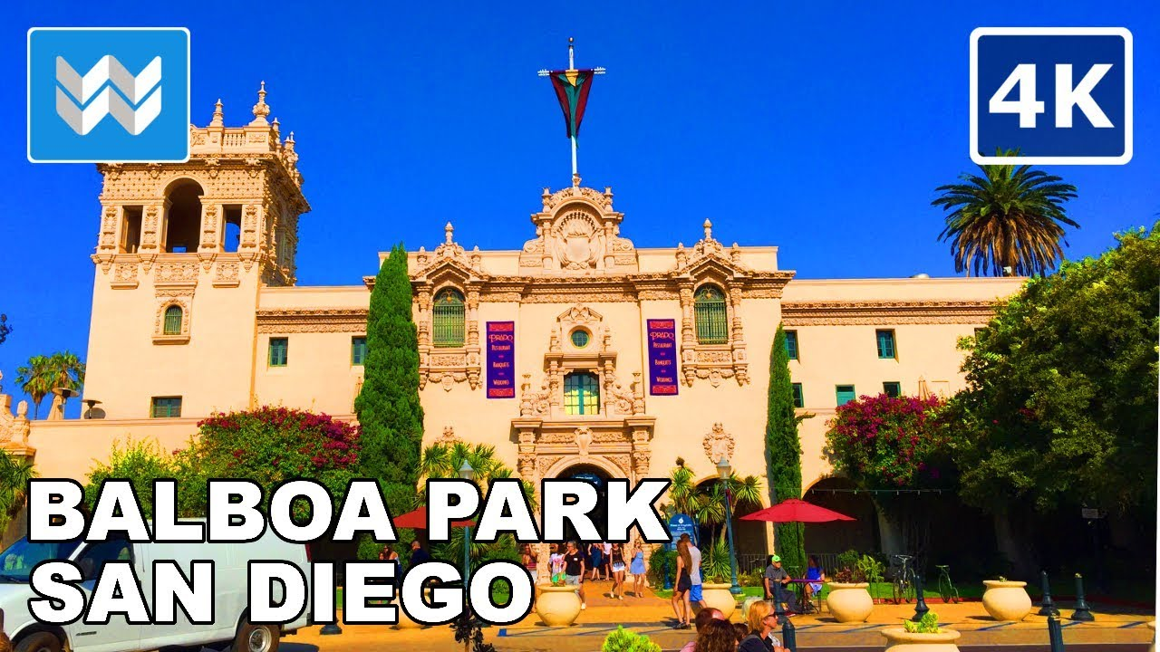 Hang out in Balboa Park