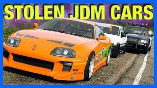 Forza Horizon 4 : Stolen JDM Cars!!