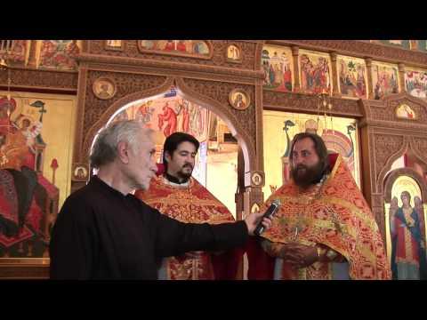 Греческий хор византийского церковного пения «Псалтика» в нашем храме