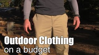 Outdoor Performance Clothing On A Budget - Mountain Venture