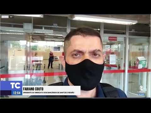 """Sindicato denuncia Santander e Mercantil por descumprirem """"lockdown"""""""