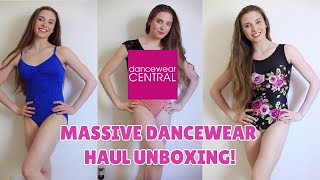 MASSIVE DANCEWEAR CENTRAL HAUL LEOTARDS UNBOXING!