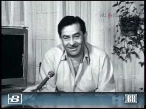 Радж Капур. Интервью индийского актера и режиссёра 19.08.1968