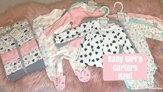 Huge Carters Haul 2018 // Baby Girls Clothing Haul