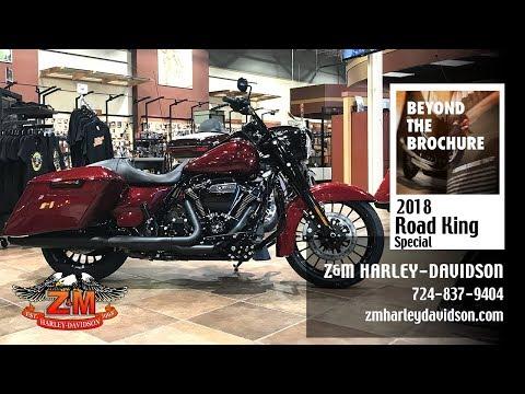 2018 Harley-Davidson Road King® Special in Greensburg, Pennsylvania