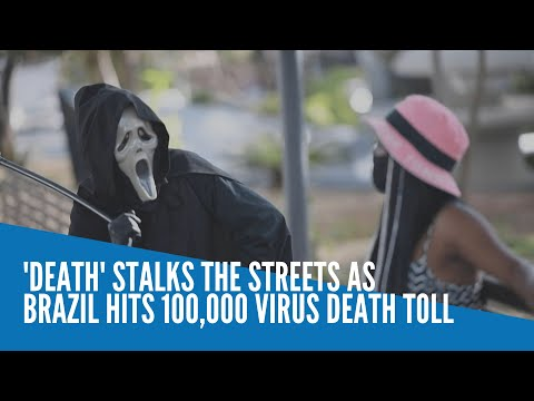 [Inquirer]  'Death' stalks the streets as Brazil hits 100,000 virus death toll