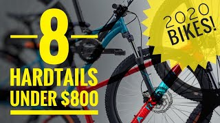 8 Hardtails Under $800 - 2020 Mountain Bikes