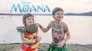 MOANA Youre Welcome Real Life Maui -- Martin At 7 Years Old