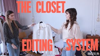 The Closet Editing System