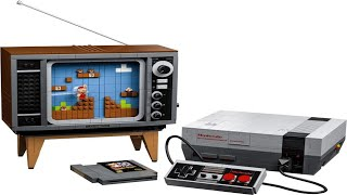 LEGO Instructions - Super Mario - 71374 - Nintendo Entertainment System