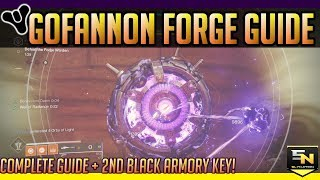 Destiny 2 | Gofannon Forge Guide & 2nd Black Armory Key