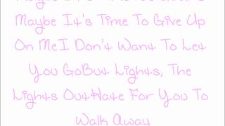 Lights out by Tynisha Keli w/ lyrics