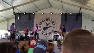 """I Wish I Was Sober"" - Frightened Rabbit at Newport Folk Festival 2016"