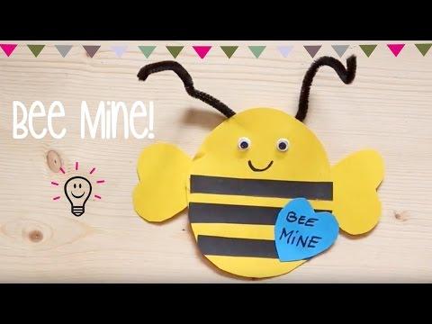 Bee Mine Biene // DIY Bastelanleitung