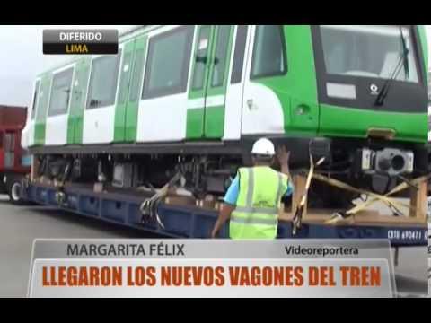 Llegaron los nuevos vagones del tren