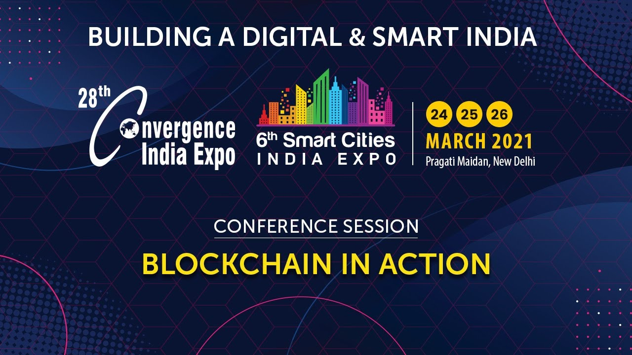Conference Session on Blockchain in Action