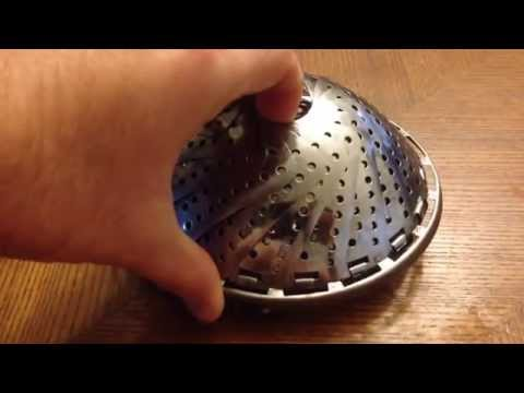 How To Open A Collapsible Vegetable Steamer