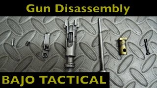 How to Disassembly M4 Carbine