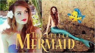 Ariel The Little Mermaid Makeup  & Hair Transformation | Disney Princess Tutorial