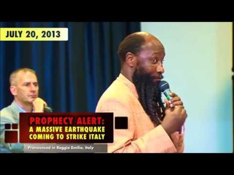 IMPACTANTE! Terremoto en Italia fue profetizado a detalle- Profeta Dr. David Owuor