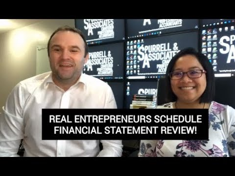 Edmonton Business Consultant | Real Entrepreneurs Schedule Financial Statement Review