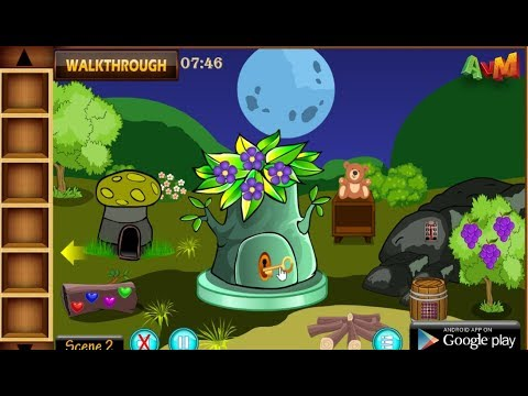 AVM Green Frog Escape walkthrough AVMGames.