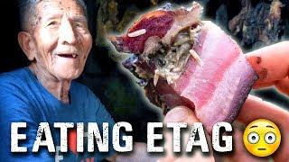 Philippines STRANGEST food! ETAG in Sagada | Travel Philippines Vlog