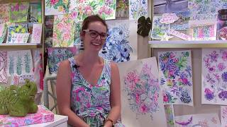 Behind The Print: Chatting With A Lilly Pulitzer Artist
