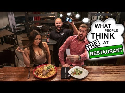 What People Think at the Restaurant | SweetSpotSquad